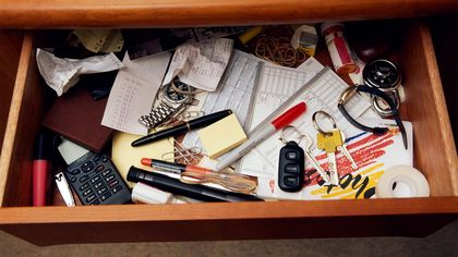 10 Things to Toss From Your Junk Drawer Now: How Many Are Hiding in Yours?