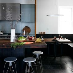 Is the Kitchen the New Man Cave?