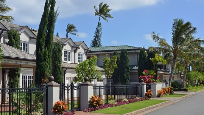 There are worse places to be locked into a home than Honolulu.
