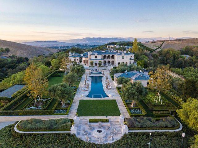 The $88 million Thomas Tull estate.