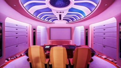 Marc Bell's Wild 'Star Trek'-Themed Mansion Explores a 43 Percent Price Cut