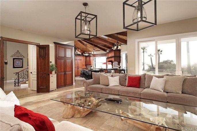 Lou Ferrigno's new living room