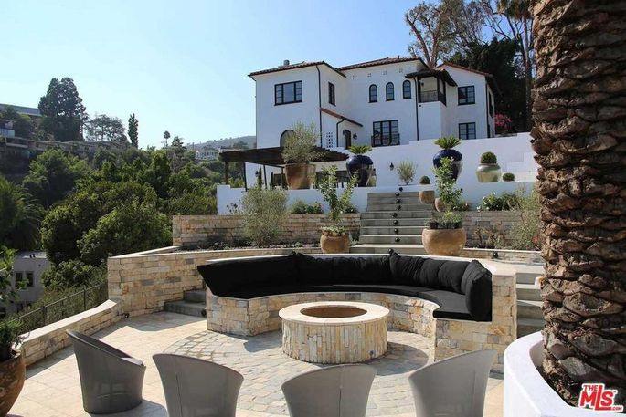 Recently renovated Paul Williams home in Hollywood Hills