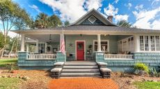 Historic and Charming Craftsman in Quaint Florida Town Is Listed for $640K
