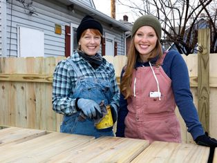 'Good Bones': Watch a Mom and Her Kid Turn a $4,000 Fixer-Upper Into $259,000