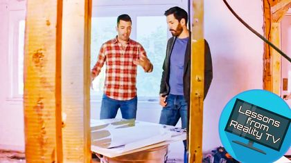 The Property Brothers Make a Family Home and Office Do Triple Duty