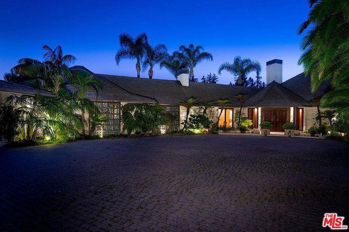 Bel Air home of Cheryl Tiegs