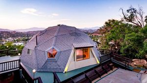Dreamy Dome Home Caps Cool 'Rocker Compound' in L.A.