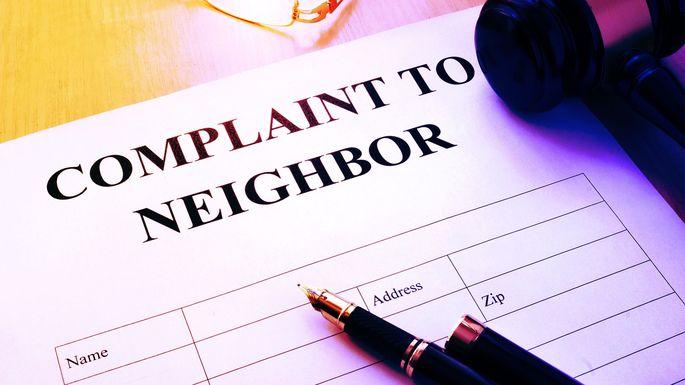 complaint-to-neighbor