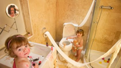 The Not-So-Private Hell of Family Life in a Home With One Bathroom, Revealed