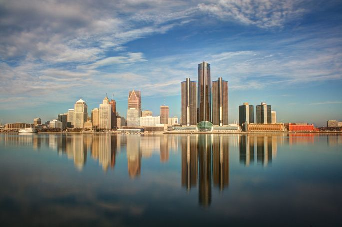The Detroit metro area has the most homes for sale at or under $100,000.