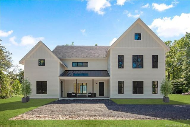 modern farmhouse in Wilton, CT Connecticut