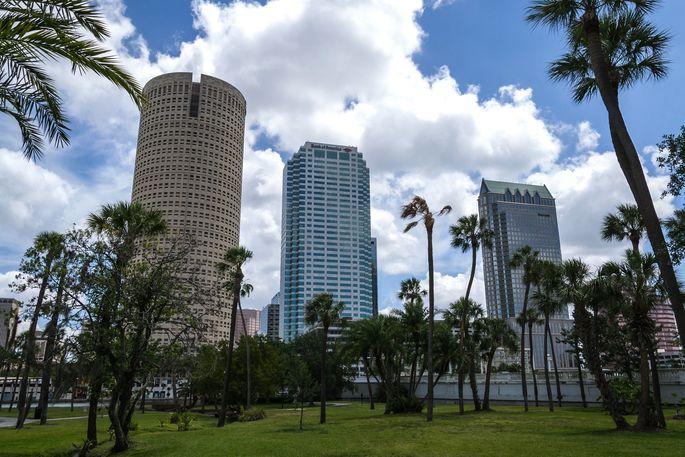 Orlando, FL, skyline