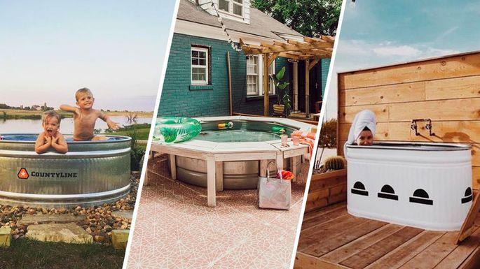 Stock Tank Pool: Summer's Ultimate Hillbilly Swimming Spot