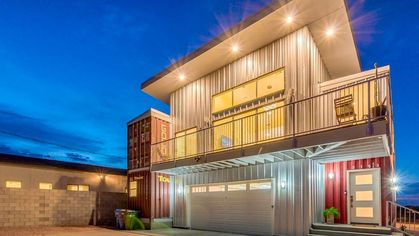 Desert Dazzler! Phoenix Shipping Container Home Is Hot, Hot, Hot