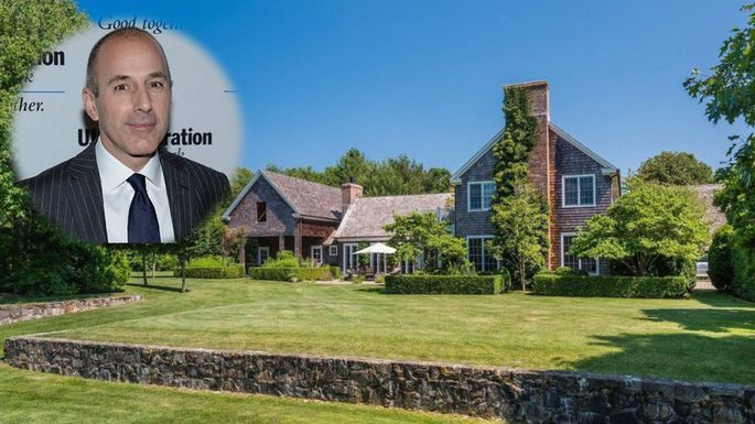 Disgraced Tv Host Matt Lauer Slices 5m From Price Of Sprawling Hamptons Estate