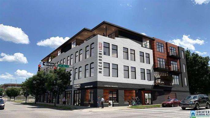 Micro apartment building in Birmingham, AL
