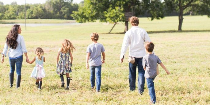 The Gaines Family Down On Farm