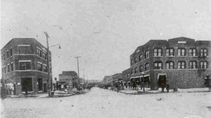 Rebuilt Greenwood in 1925