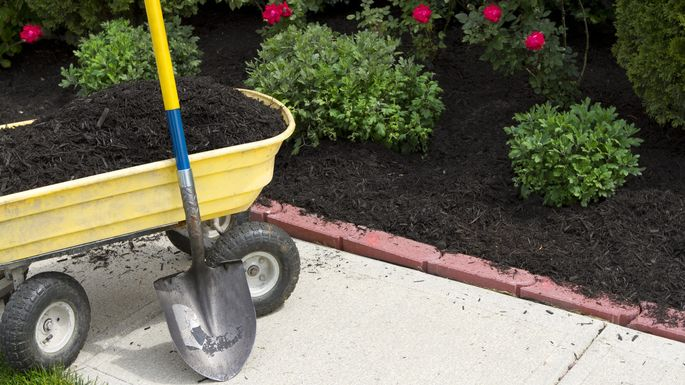 You'll be mulch happier in the long run if you care for your gardens now.