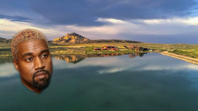 You'll Never Guess Where Kanye West Just Bought His Latest Home