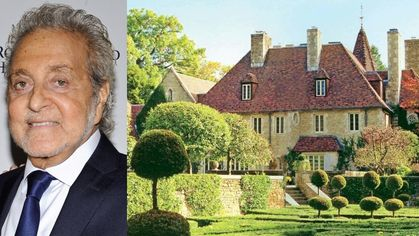 Slip Into Shoe Guru Vince Camuto's Chateau in Greenwich for $25M