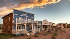 Saddle Up! Amazing Replica Old West Town in New Mexico Available for $1.6M
