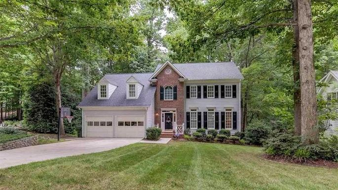 Four-bedroom home in Cary, NC