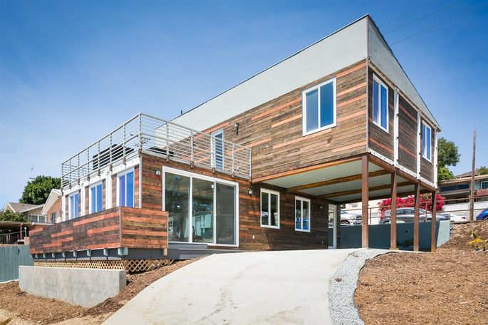 San Diego Modern Home Made From Shipping Containers Realtor Com