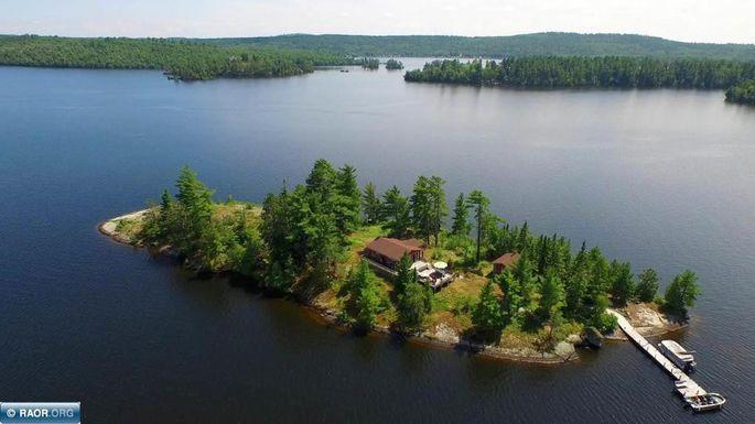 minn island house overview