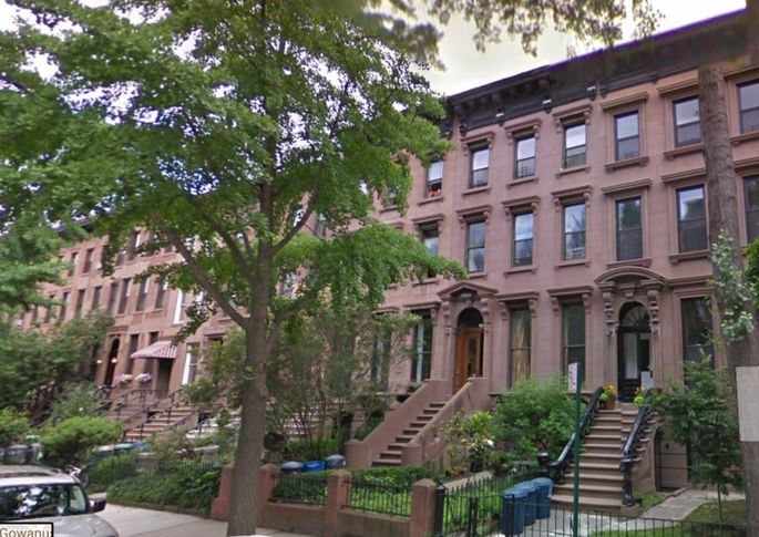 Mr. Manafort's townhouse in Carroll Gardens, Brooklyn