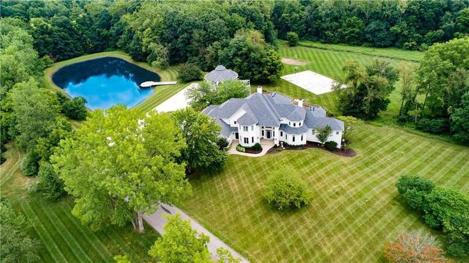 Jim Irsay's 16-acre property