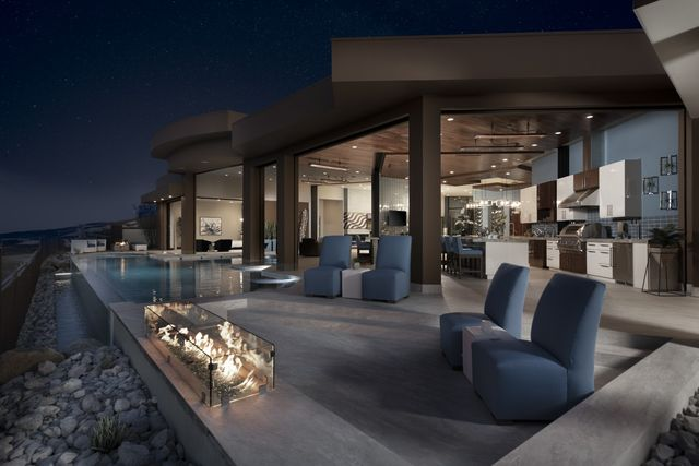 The New American Home, outdoor space