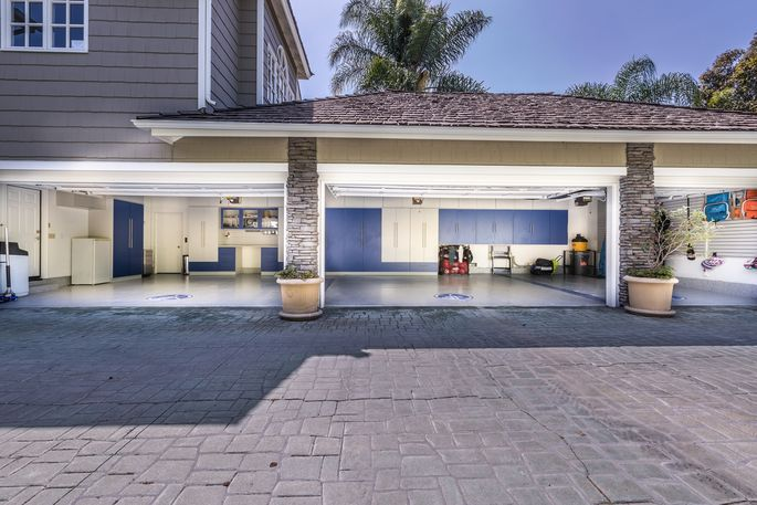 A neat—and therefore spacious-looking—garage is one of the first things a buyer sees from the curb.