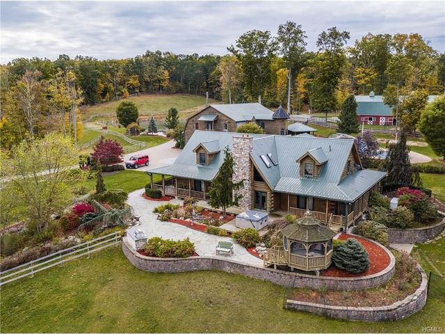 Paul Tuttle's rustic estate
