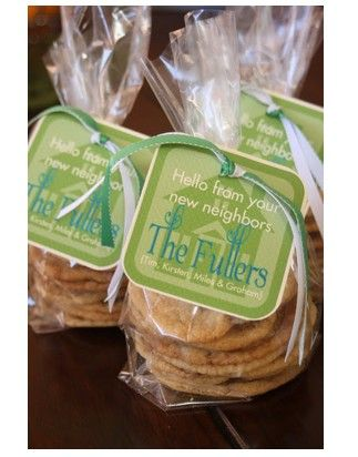 free printable neighbor tags to attach to bag of cookies