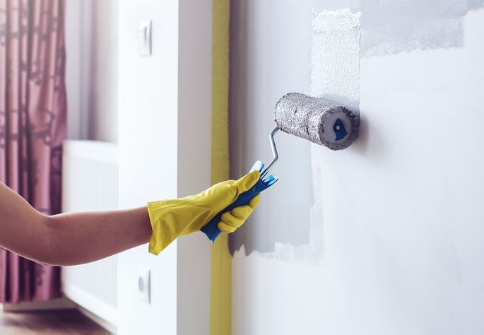 Painting is the ultimate DIY project for newbies.