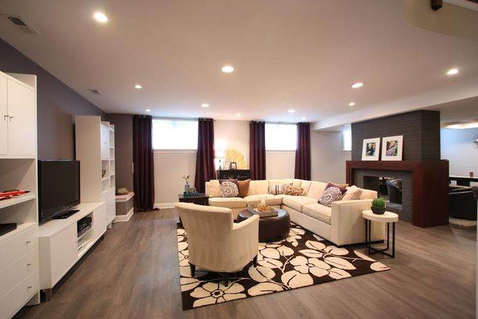 These 48 Fab Remodels Prove Your Basement Is Wasted On You Realtor Mesmerizing Average Cost Basement Remodel Minimalist