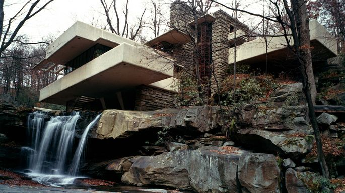 How much it costs to own a home by a famous architect for Cost of building a house in pa