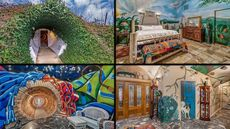 Must-See Underground House in Texas Is Crazy With Color and Extremely Private