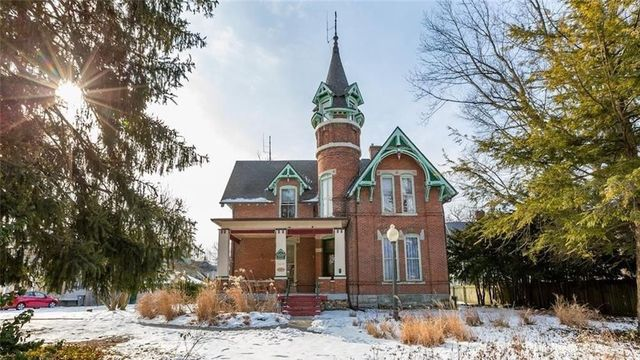 Built in 1876, This Indiana Castle Is a Lovely Local Landmark
