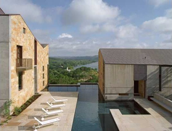 Lance Armstrong's Anti-Zombie Fortress on Lake Austin