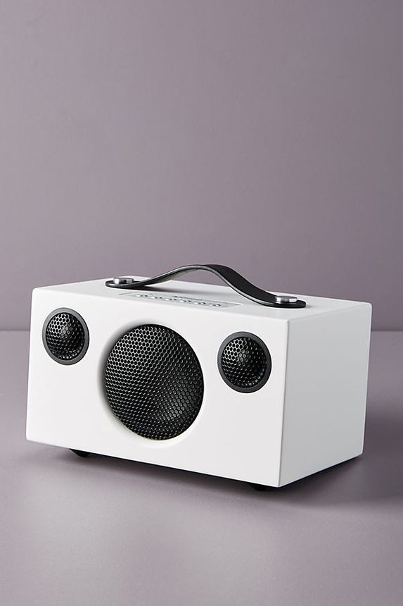 Wireless speakers let you listen to your favorite tunes while you DIY.