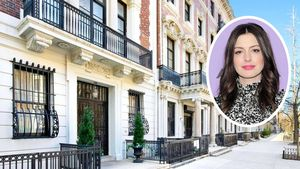 Anne Hathaway's Renovated NYC Apartment Evokes a 'Bygone Era'