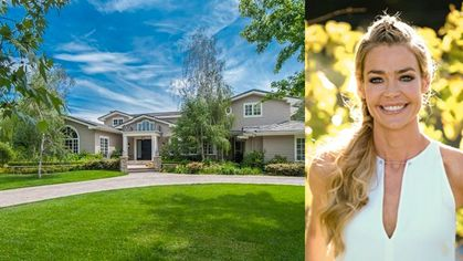 Denise Richards Unloads Hidden Hills Mansion Amid Rumors She's Joining 'Real Housewives'