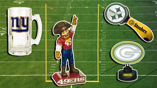 NFL-Themed Home Decor?! 10 Hilarious Items to Get Before the Next Game