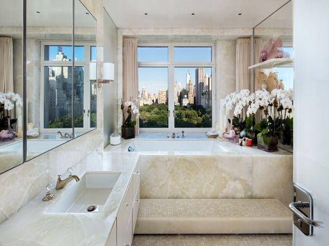Bath tub with a view
