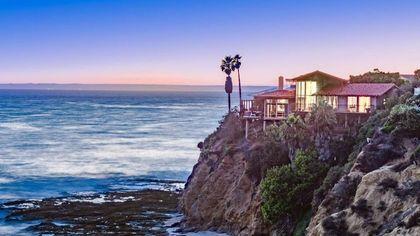 A Wow-Worthy Location! $10.5M Laguna Beach Home Clings to Cliff