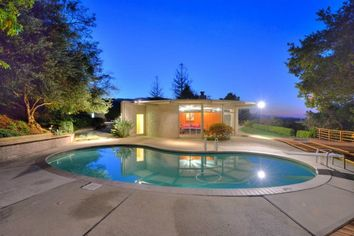 Radical Radial Midcentury in Los Gatos