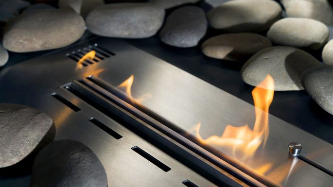 Is a ventless gas fireplace safe